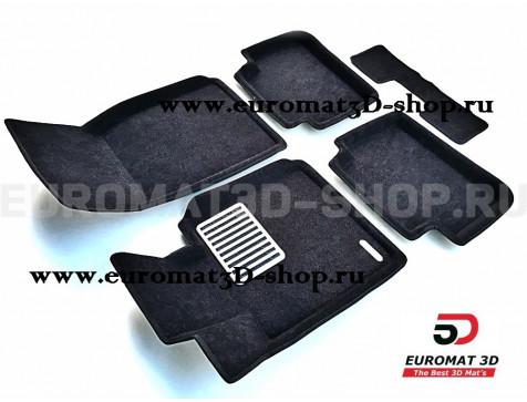 Текстильные 3D коврики Euromat3D Lux в салон для Bmw 1 (F20) (2011-) № EM3D-001213
