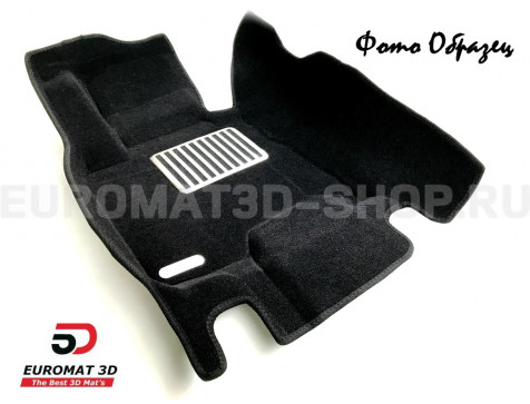 Текстильные 5D коврики с высоким бортом Euromat3D в салон для Bmw 1 (E87) (2007-2011) № EM5D-001200