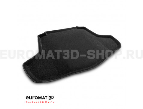 Текстильный 3D Коврик Euromat в багажник Для Toyota Camry XV70 (2018-) № EMT3D-005101